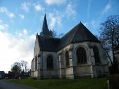 Eglise - Français:   Huppy, Somme, Fr, église (4)