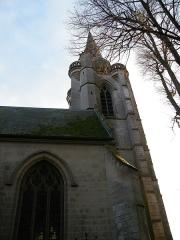 Eglise - Français:   Huppy, Somme, Fr, église (6)