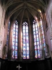 Eglise Saint-Sépulcre -  Montdidier (Somme, France) -  Le choeur de l'église du Saint-Sépulcre.   .