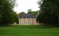 Château -  Ribeaucourt (Somme, France).   Le château.