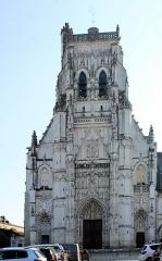 Ancienne abbaye - English: Saint-Riquier, the church of Abbaye de Saint-Riquier
