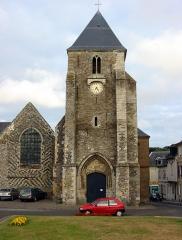 Eglise Saint-Martin -  Saint-Valery-sur-Somme (Somme, France).   L'église Saint-Martin.