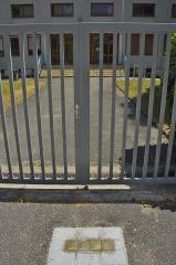 Lycée Lamartine - Deutsch: Stolpersteine in Belley