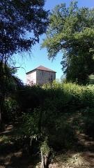 Donjon du Temple (vestiges) - Français:   Temple batie cour.