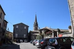 Château - Français:   Château de Joyeuse