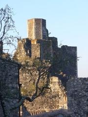 Château - Photo prise dans la lumière du matin