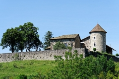 Château de Bayard (ruines) - Français:   Château Bayard à Pontcharra