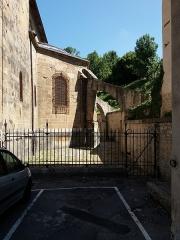Eglise Saint-Theudère - Français:   Chevet.