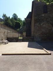 Eglise Saint-Theudère - Français:   Côté gauche.