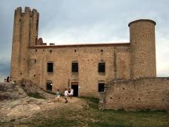 Tour - English: The château d'Essalois, in the Loire departement of France.