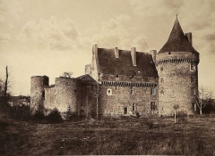 Château de Boisy, dit Château de Jacques Coeur - French photographer and painter
