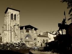 Grand'Eglise ou Eglise Saint-Etienne - Vue d'ensemble de l'église Saint Laurent et Saint-Etienne dite