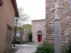 Eglise -  Vue de Saint Victor