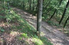 Aqueduc gallo-romain de l'Yzeron - Français:   Traces de l\'Aqueduc de l\'Yzeron sur un chemin rural à Yzeron.