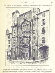 Ancien Collège de la Trinité, actuellement lycée Ampère - Image taken from:  Title: \