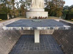 Parc de la Tête-d'Or - Lendemain de la commémoration du 11 novembre, en 2019.