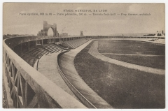 Stade municipal dit stade Gerland - Français:   Carte postale du Stade municipal de Lyon. Édition Florentin. Cote 4FI.