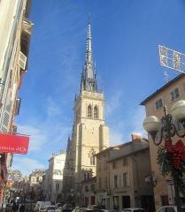 Eglise Notre-Dame-des-Marais - Français:   clocher de l\'église N-D des Marais