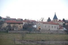 Chapelle Saint-Martin -  Vue du hameau de Saint Martin (Montrottier)