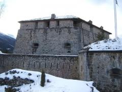 Forts de l'Esseillon : Fort Marie-Christine -  Le Fort Marie-Christine à Aussois