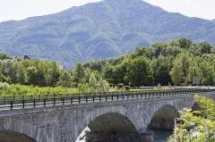 Tunnel hydraulique du Gelon et pont Royal -  L\'Arc à Chamousset (Savoie - France)