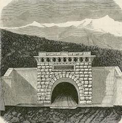 Tunnel du Mont-Fréjus - Italiano: Galleria del Fréjus (imboccatura Modane).