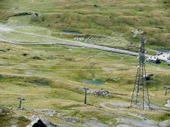 Cercle de pierres - Italiano: Valle d'Aosta, passo del Piccolo S. Bernardo, cromlech e resti mansio romane