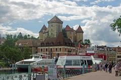 Château -  Le château vu depuis le quai Napoléon III.