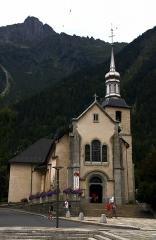 Eglise Saint-Michel -  Chamonix. L'Eglise.