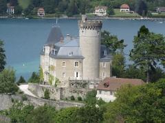 Domaine de Châteauvieux - English: Châteauvieux castle (Duingt, France) on August 13, 2019.