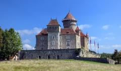Château de Montrottier - English: Montrottier Castle in August 2019. Lovagny, France.
