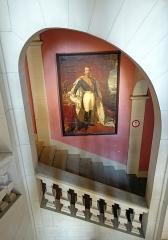 Château de Montrottier - English:   Staircase in Montrottier Castle. Lovagny, France.