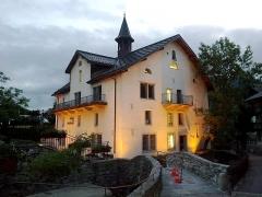 Eglise -  Haute-Savoie Megeve Quai Glapet 04072013