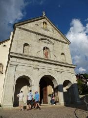 Eglise -  l'eglise de megève