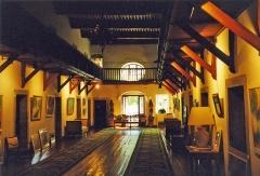 Abbaye -  Main hall of the Abbaye de Talloires, Lake Annecy, France
