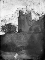 Château - Français:   Tour chateau de Bazoches Eugene Lefevre-Pontalis