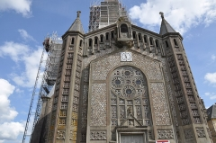 Eglise Saint-Julien - English: Church of Domfront (France, Normandy)