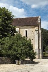 Ancienne chartreuse de Lugny - Deutsch: Chapelle de la Courroirie der ehehmaligen Kartause von Lugny in Leuglay im Département Côte-d'Or (Burgund/Frankreich)