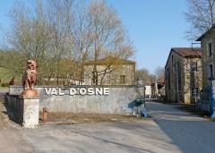 Fonderie du Val d'Osne - Français:   Ancienne fonderie d\'art Val d\'Osne (Haute-Marne)