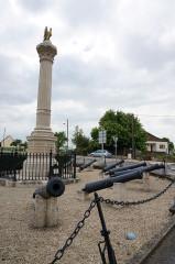 Fonderie du Val d'Osne - English: War memorial, battles Champaubert, Marchais-en-Brie, Montmirail