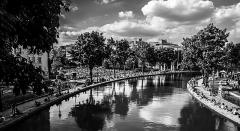 Canal Saint-Martin -  Au bord du canal
