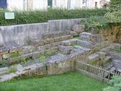 Haras national - Français:   Vestiges du rempart gallo-romain de Saintes