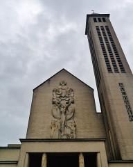 Basilique Notre-Dame de la Trinité - Deutsch: Fassade der Basilika Unserer Lieben Frau der Dreifaltigkeit, Blois, Département Loir-et-Cher, Region Zentrum-Loiretal, Frankreich