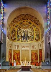 Basilique Notre-Dame de la Trinité - Deutsch: Chor der Basilika Unserer Lieben Frau der Dreifaltigkeit, Blois, Département Loir-et-Cher, Region Zentrum-Loiretal, Frankreich