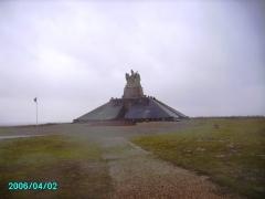 Monument aux morts des Armées de Champagne et ossuaire de Navarin (également sur commune de Sainte-Marie-à-Py) - English: Ferme de Navarin War Memorial