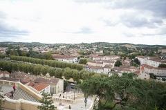 Escalier monumental -  Vue d'Auch depuis l'escalier monumental / Gers /  France
