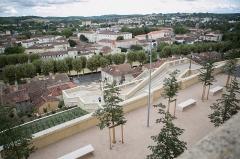 Escalier monumental -  Escalier monumental d'Auch / Gers /  France