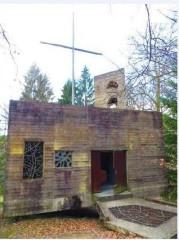 Ermitage de Saint-Rouin, puis chapelle de pèlerinage - Français:   Beaulieu Argonne chapelle Saint-Rouin