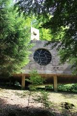Ermitage de Saint-Rouin, puis chapelle de pèlerinage - Français:   Vue extérieure de la chapelle