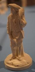 Faïencerie - Français:   présenté lors d\'une exposition temporaire au musée de Commercy.